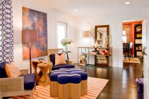 Home Decor Color Trends 2014 home decor with navy blue and orange color for 2014 trends best home