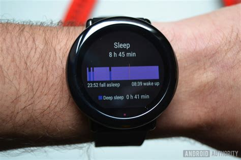 Amazfit Pace amazfit pace review android authority