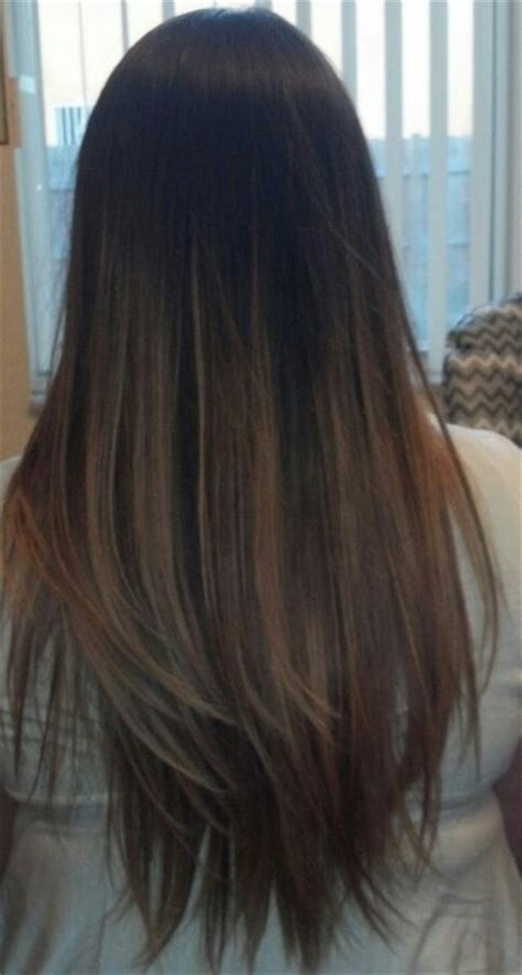 dark brown hair combinations subtle ombre hair haaaaaair pinterest