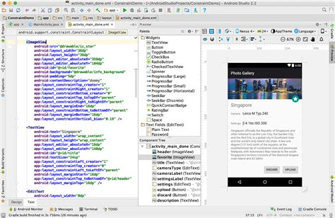 android studio list layout phone outline android studio after update stack overflow