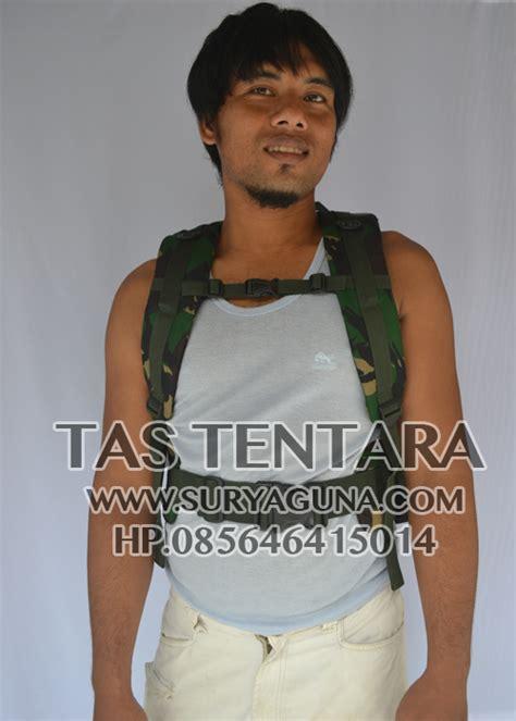 Tas Laptop Loreng tas ransel laptop army loreng suryaguna distributor