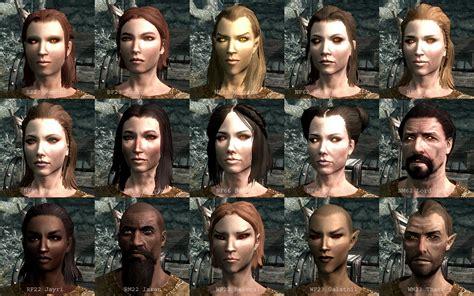 skyrim all hair styles esp expanded skyrim presets at skyrim nexus mods and