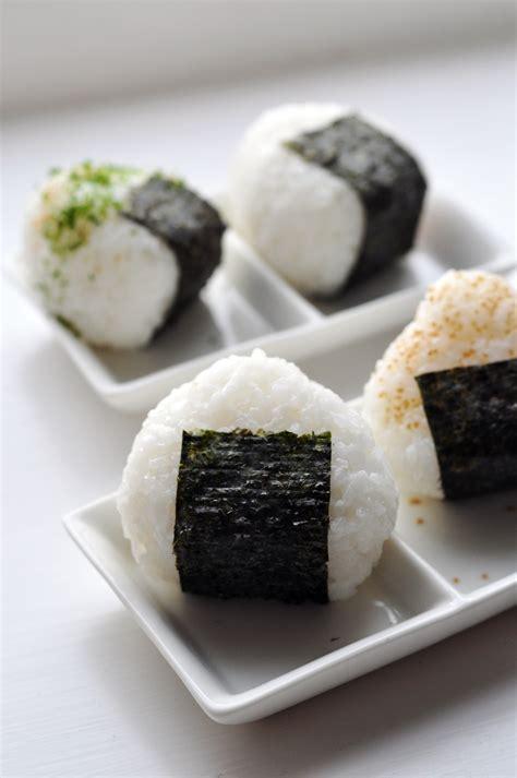 japanese ricer japanese rice balls onigiri recipe dishmaps