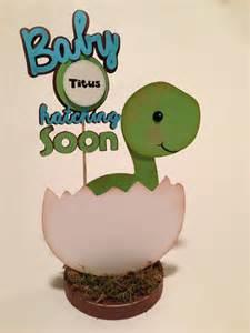 baby dino dinosaur centerpiece baby shower