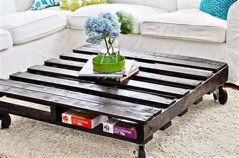 Easy Pallet Coffee Table 20 Amazing Diy Pallet Coffee Table