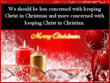 Christian Decor For Home christmas christmas quote we should be less concerned