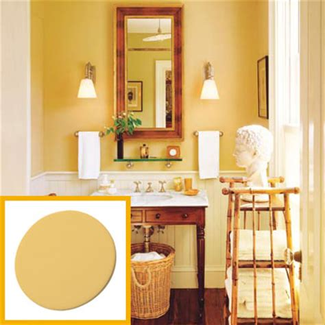 wall paint create a colonial style powder room this house