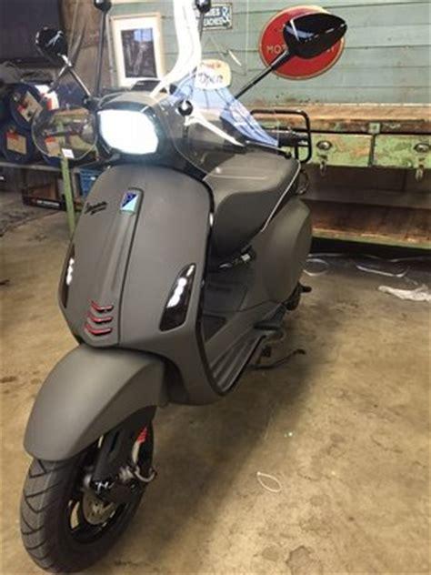 Zippo Custom Grey Vespa Black Matte custom vespa scooters scooterspot amsterdam