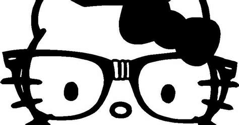 hello kitty coloring pages nerd hello kitty coloring pages