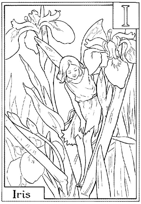 Flower Fairies Coloring Pages Coloring Home Folk Coloring Pages