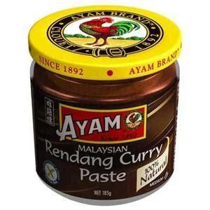 rendang curry paste  ayam  oz