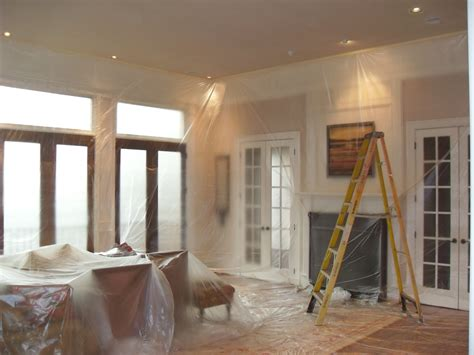 interior home painting how should interior house painters in los angeles handle