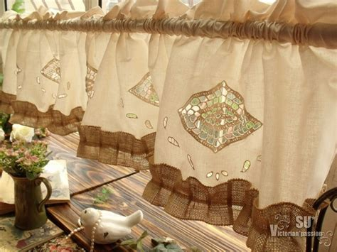 shabby chic curtains for sale whole sale shabby chic beige farmhouse rustic burlap