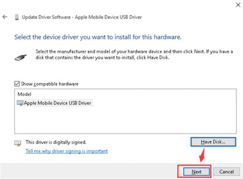 apple mobile device install iphone driver not recognized by windows 10 solved