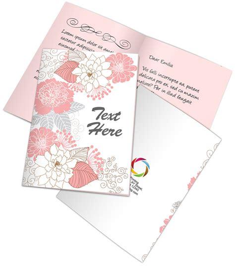 bi fold greeting card template bi fold a5 greeting card mockup cover actions premium