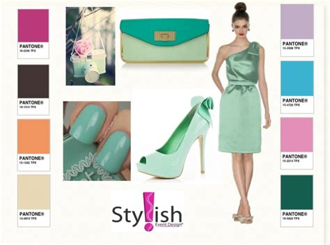 what goes with green what colour goes with mint green