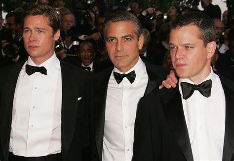 Get Brad And Matts Oceans 13 Shades by Brad Pitt And Matt Damon Photos Photos Cannes S