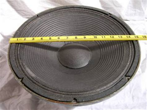 Woofer 6 Elsound Audio Magnet Besar 1 1x vintage jbl 15 quot woofer bass speaker alnico d140 130