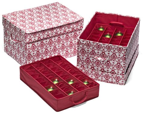 holiday organizing ideas storing ornaments safely