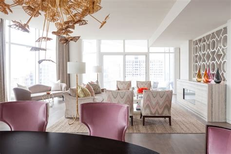 classy apartment decor elegant apartment in dallas exudes femininity