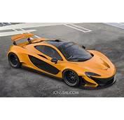 Virtual Tuning McLaren P1 Wide Body