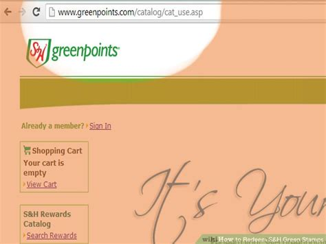 Gift Cards Redeemable For Cash States - how to redeem s h green sts 7 steps with pictures wikihow