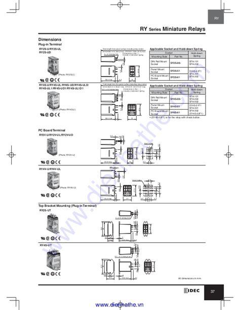 idec relay wiring diagram octal relay wiring diagram
