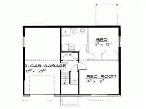 2 bedroom basement floor plans eplans contemporary modern house plan two bedroom contemporary 982 square feet and 2