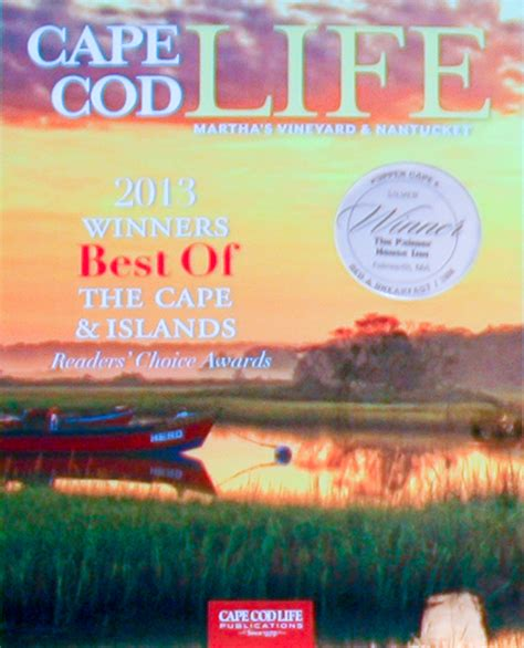 best of cape cod 2014 cape cod bed and breakfast s accolades press reviews and