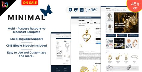 Cosmetico V1 9 3 Responsive Ecommerce Theme shopping responsive opencart 3 theme for store