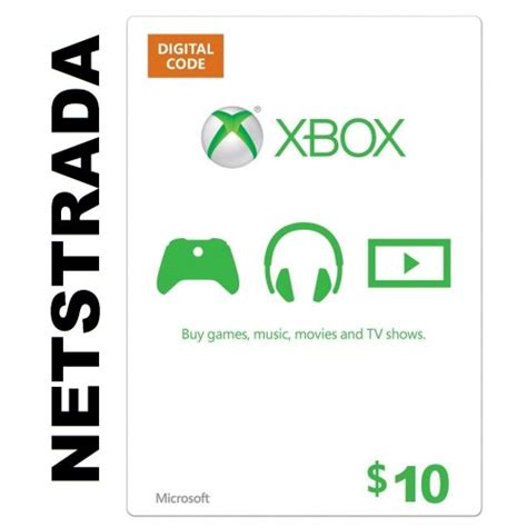 Microsoft Points Gift Cards - xbox 10 usa live gift card microsoft points ms voucher emailed worldwide