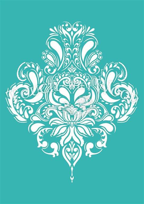 retro wall stencils patterns and tips from 7 reader 17 best images about damask on pinterest damask wall