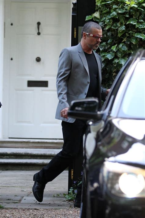 george michael home george michael photos photos george michael leaves home