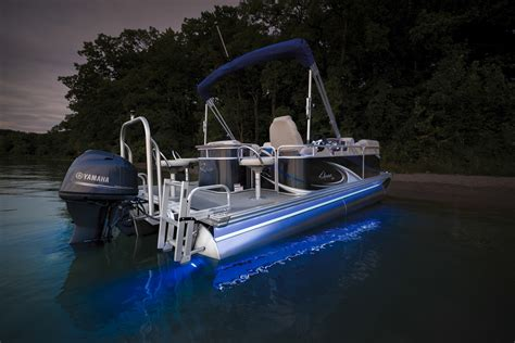 underwater lights on a pontoon boat qwest edge options accessories qwest pontoons