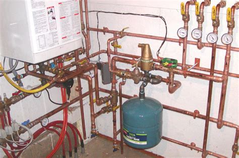 Overall Plumbing by Solar Water And Space Heating System With Integrated Boiler