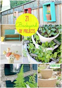 great ideas 21 backyard projects for spring