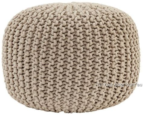 knitted ottomans knitted gumball ottoman pouffe foot stool pouf footstool