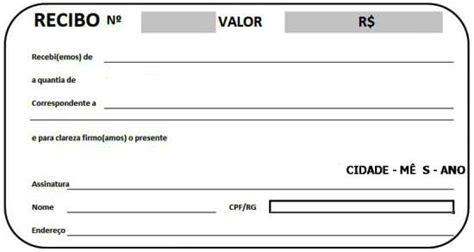 modelo de recibo ingles quotes recibo simples pagamento modelos imprimir gr 225 tis para