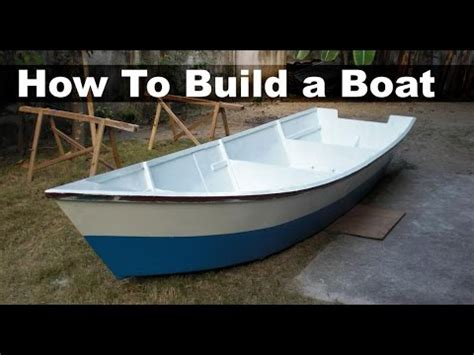 How To Make A Big Boat Out Of Paper - how to build a boat out of plywood 15 ft 4 5 m dinghy