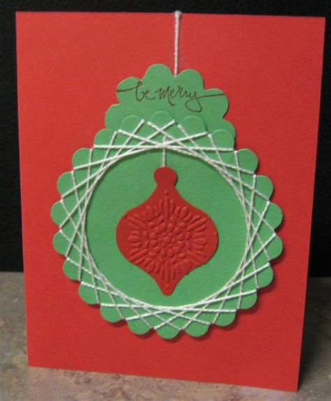 Spirelli String - spirelli ornament cards