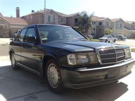 manual repair autos 1987 mercedes benz w201 security system find used 1992 mercedes benz 190e 2 6 sedan 4 door 2 6l in la follette tennessee united states