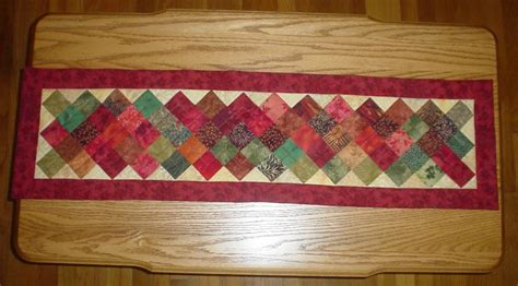 Patchwork Table Runner Pattern - table runner new 779 free quilted table runner