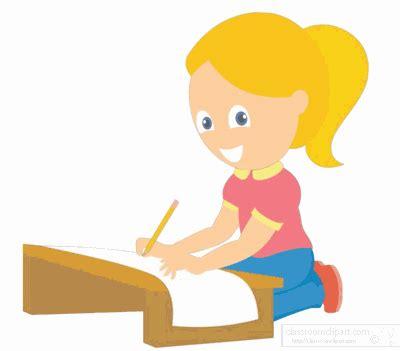 orang yang membuat gambar bergerak animasi bergerak orang sedang menulis gambar lucu gif