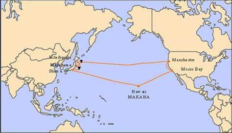 america and japan map fujitsu completes upgrade of japan us cable network