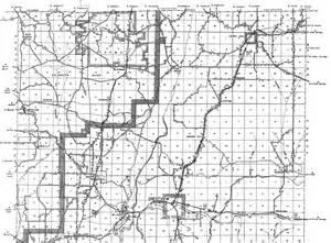 okaloosa county florida map okaloosa 1936