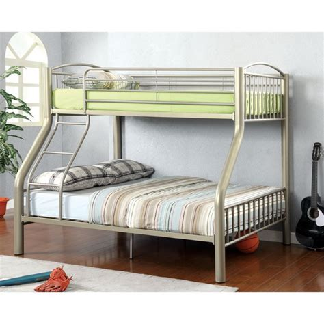 furniture of america bunk beds furniture of america lohani twin over full metal bunk bed