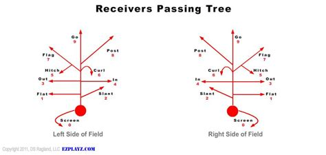 passing tree diagram for football best of fundamentals plays football for normal