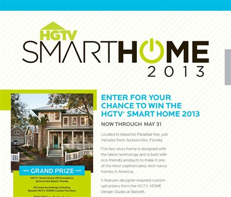 get smart enter to win the hgtv smart home located in 1000 images about hgtv 174 smart home 2013 on pinterest