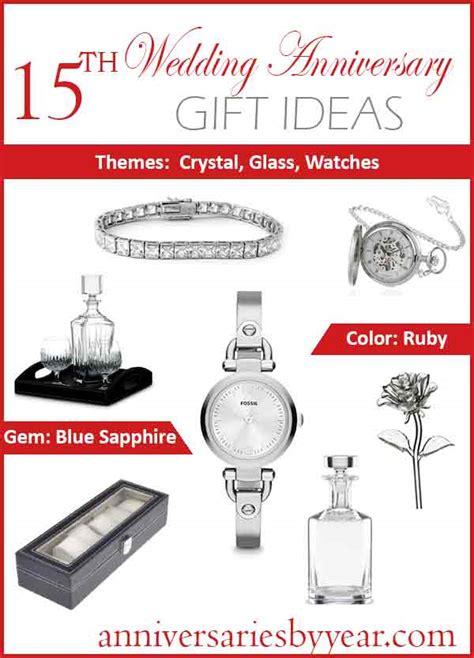 Wedding Anniversary Ideas 15 Years by Fifteenth Anniversary 15th Wedding Anniversary Gift Ideas