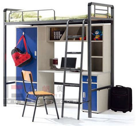 Student Bunk Bed With Desk China Supplier School Furniture College Humanized Student Bunk Bed With Desk Buy Bunk Bed With